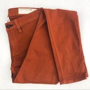 My rust brown Rag & Bone skinny jean leggings